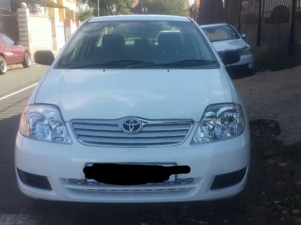 2006 Toyota Corolla 1.4 Advanced  Gauteng Johannesburg_0