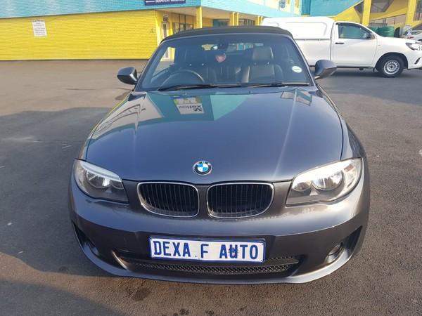 2012 BMW 1 Series 120i Convertible At  Gauteng Bramley_0