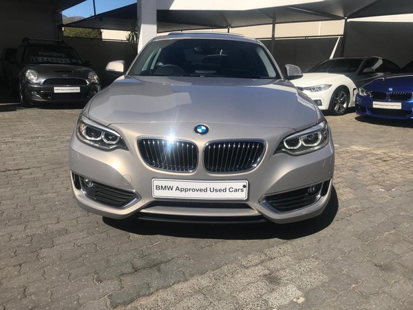 2017 BMW 2 Series 220i Coupe Luxury Line Automatic Western Cape Paarl_0