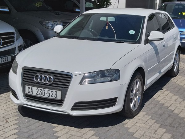 2010 Audi A3 1.4 Tfsi Sportback Attraction  Western Cape Mowbray_0