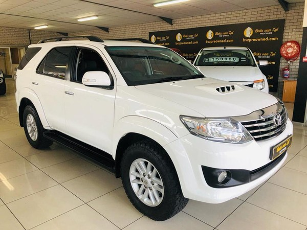 2014 Toyota Fortuner 2.5d-4d Rb  Western Cape Paarl_0