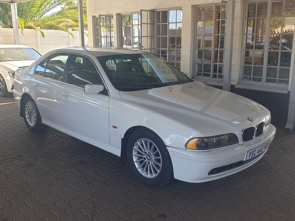 2001 BMW 5 Series 525i Exclusive At e39  Gauteng Centurion_0
