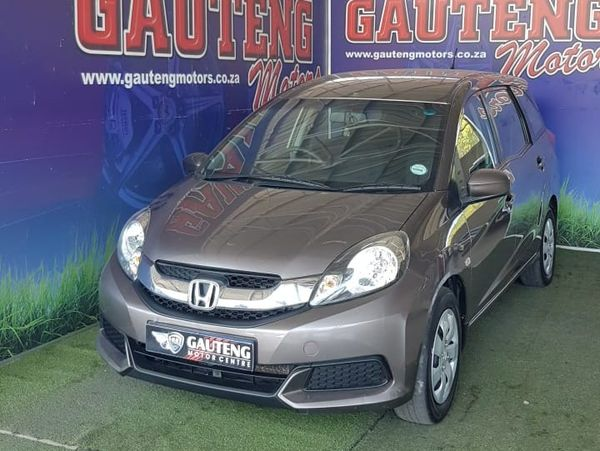 2016 Honda Mobilio 1.5 Comfort Gauteng Pretoria_0