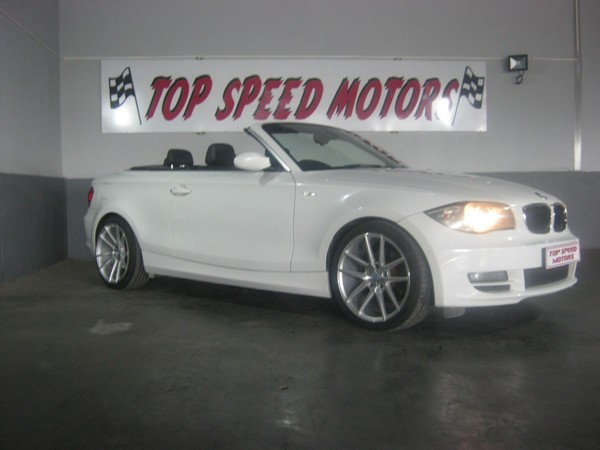 2009 BMW 1 Series 125i Convertible At  Gauteng Vereeniging_0