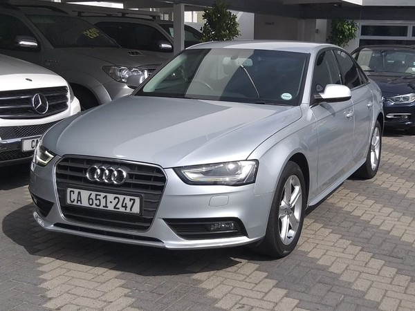 2014 Audi A4 2.0 Tdi Se Multitronic  Western Cape Mowbray_0