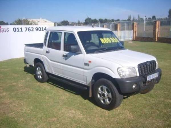 2008 Mahindra Scorpio 2.5tci Pu Dc  Gauteng Roodepoort_0