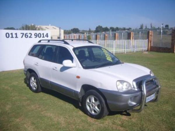 2004 Hyundai Santa Fe 2.7 At  Gauteng Roodepoort_0
