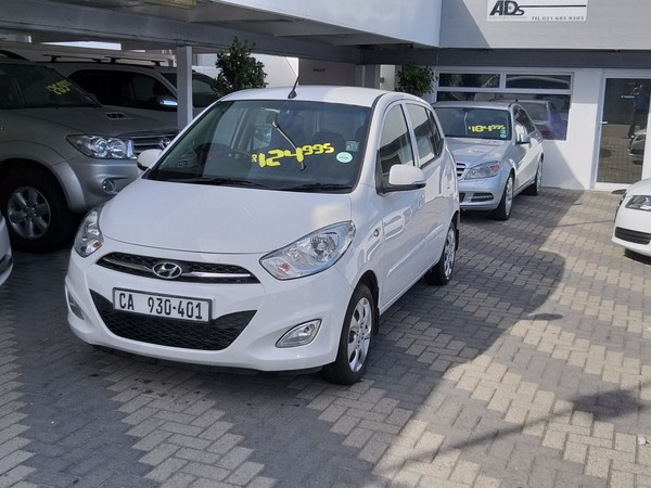 2014 Hyundai i10 1.1 Motion Auto Western Cape Mowbray_0