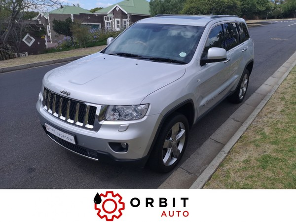 2011 Jeep Grand Cherokee Jeep Grand Cherokee 3.6 Overland AT. Only 86 000km Western Cape Durbanville_0