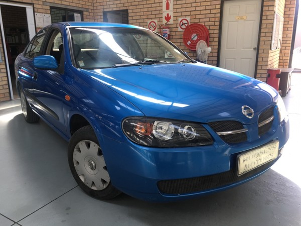 2003 Nissan Almera 1.6 Luxury Automatic h03  Free State Villiers_0