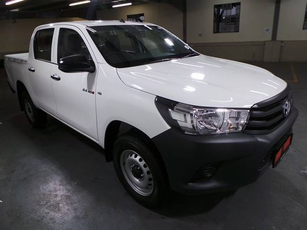 2019 Toyota Hilux 2.4 GD-6 RB S Double Cab Bakkie Gauteng Alberton_0