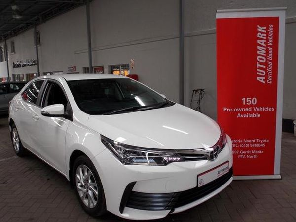 2018 Toyota Corolla 1.4D Prestige Gauteng Pretoria North_0