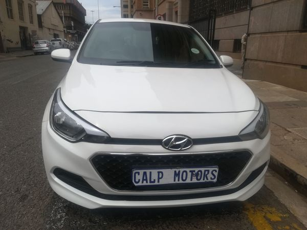 2017 Hyundai i20 1.2 Motion  Gauteng Marshalltown_0