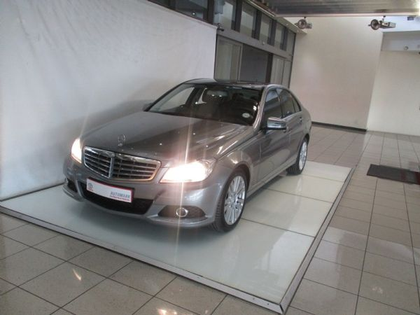 2012 Mercedes-Benz C-Class C200 Be Elegance At  Gauteng Johannesburg_0