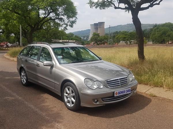 2006 Mercedes-Benz C-Class C 200k Estate Sport At  Gauteng Pretoria West_0