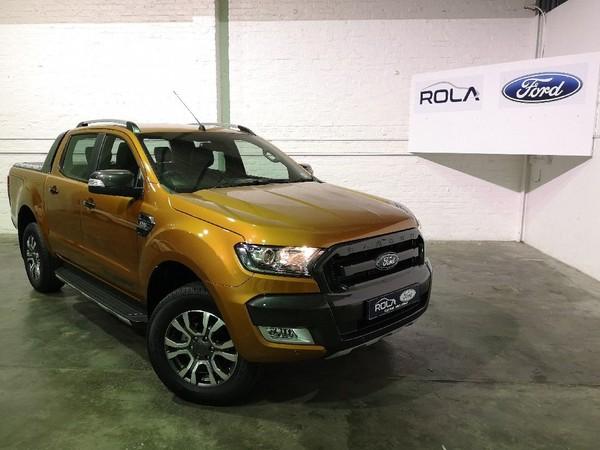 2018 Ford Ranger 3.2TDCi 3.2 WILDTRAK 4X4 Auto Double Cab Bakkie Western Cape Caledon_0