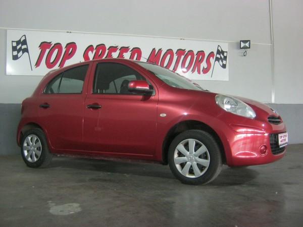 2012 Nissan Micra 1.2 Visia 5dr d82  Gauteng Vereeniging_0