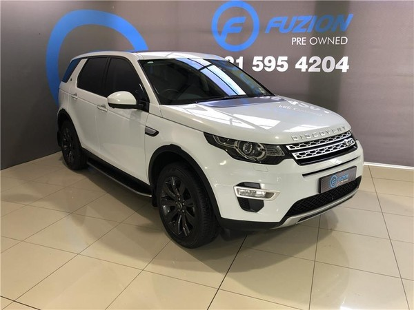 2017 Land Rover Discovery Sport Sport 2.0i4 D HSE LUX Western Cape Goodwood_0
