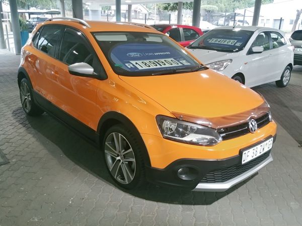 2014 Volkswagen Polo 1.6 Tdi Cross  Gauteng Pretoria_0