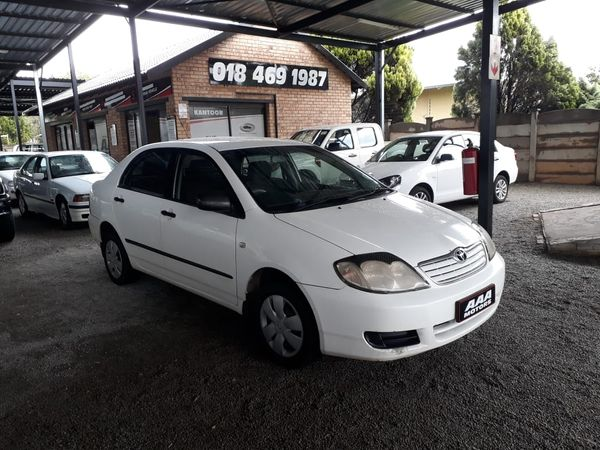 2006 Toyota Corolla 1.4 Advanced  North West Province Klerksdorp_0