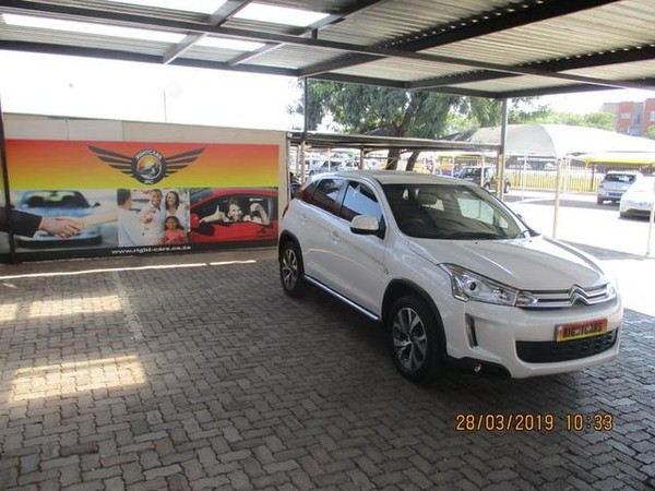 2013 Citroen C4 Aircross 2.0 Seduction At  Gauteng North Riding_0