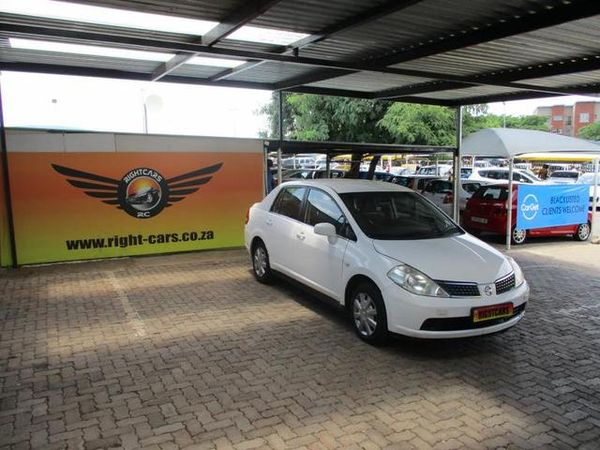 2008 Nissan Tiida 1.6 Visia  MT Sedan Gauteng North Riding_0