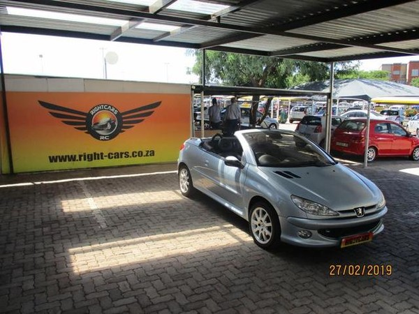 2004 Peugeot 206 2.0 Coupe Cabriolet  Gauteng North Riding_0