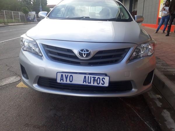 2011 Toyota Corolla 1.4 Advanced  Gauteng Germiston_0