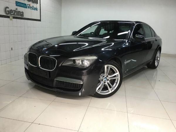 2012 BMW 7 Series 750i M Sport f01  Gauteng Pretoria_0