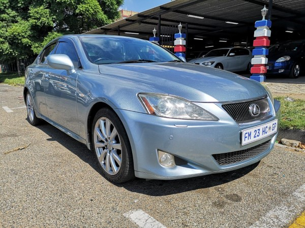 2008 Lexus IS 250 Se At  Gauteng Benoni_0