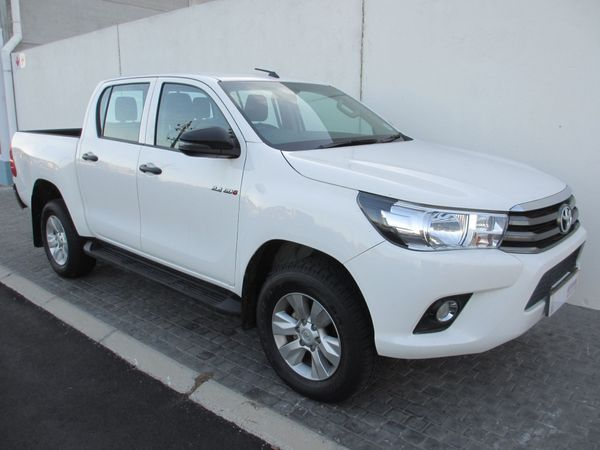 2018 Toyota Hilux 2.4 GD-6 SRX 4x4 Double Cab Bakkie Western Cape Table View_0