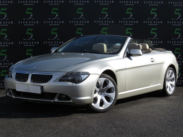 2006 BMW 6 Series 650i Convertible Sport At e64  Gauteng Johannesburg_0