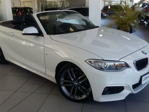 2016 BMW 2 Series 220i Convertible M Sport Auto Eastern Cape East London_0