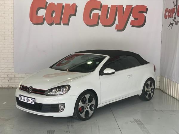 2015 Volkswagen Golf VI GTI 2.0 TSI DSG Cabriolet Gauteng Pretoria_0