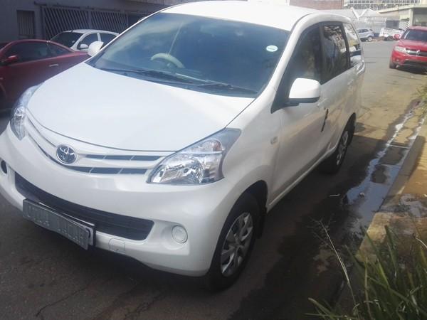 2014 Toyota Avanza 1.5 Sx  Gauteng Germiston_0