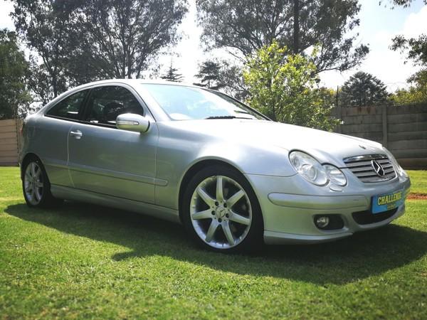 2006 Mercedes-Benz C-Class C230 V6 Coupe At  Gauteng Brakpan_0