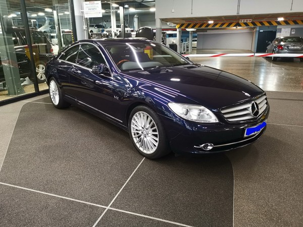 2010 Mercedes-Benz CL-CLass Cl 600  Western Cape Tokai_0