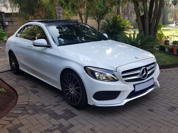 2015 Mercedes-Benz C-Class C250 Bluetec AMG Line Auto Gauteng Pretoria West_0