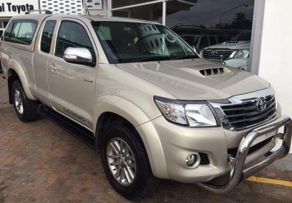 2015 Toyota Hilux 3.0D-4D LEGEND 45 XTRA CAB PU Western Cape Vredendal_0