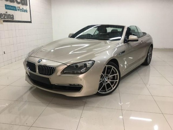 2011 BMW 6 Series 640i Convert At f12  Gauteng Pretoria_0
