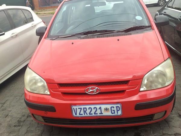 2006 Hyundai Getz 1.4  Gauteng Pretoria_0