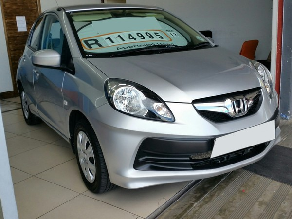 2013 Honda Brio Call Bibi 082 755 6298 Western Cape Goodwood_0