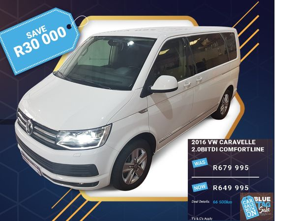 2016 Volkswagen Caravelle T6 CARAVELLE 2.0BITDI COMFORTLINE Western Cape Goodwood_0