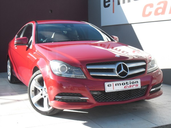2014 Mercedes-Benz C-Class C250 Be Coupe At VERY NEAT CAR Gauteng Randburg_0