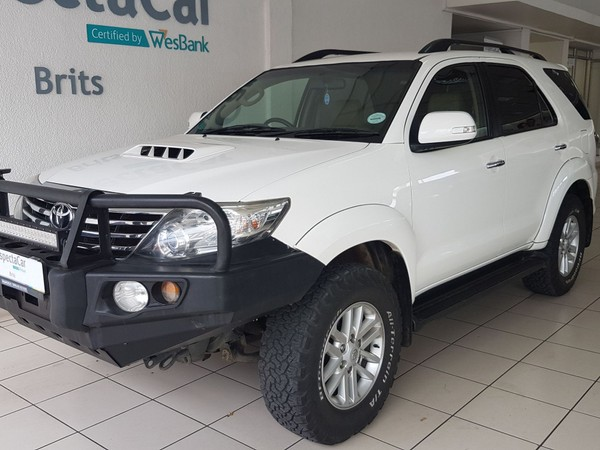 2012 Toyota Fortuner 3.0d-4d Rb At  North West Province Brits_0