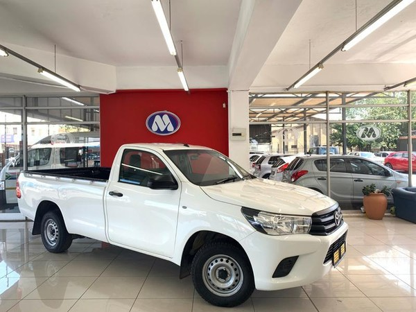 2018 Toyota Hilux 2.4 GD AC Single Cab Bakkie Gauteng Vereeniging_0