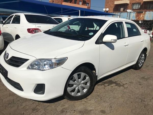 2013 Toyota Corolla 1.6 Professional  Gauteng Roodepoort_0