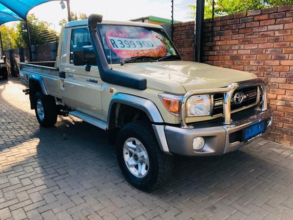 2014 Toyota Land Cruiser 79 4.2d Pu Sc  Gauteng Pretoria_0