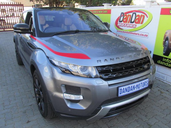 2014 Land Rover Evoque 2.2 Sd4 Dynamic  Gauteng Bramley_0