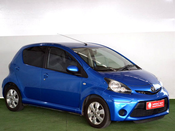 2012 Toyota Aygo 1.0 Wild 5dr  Western Cape Cape Town_0